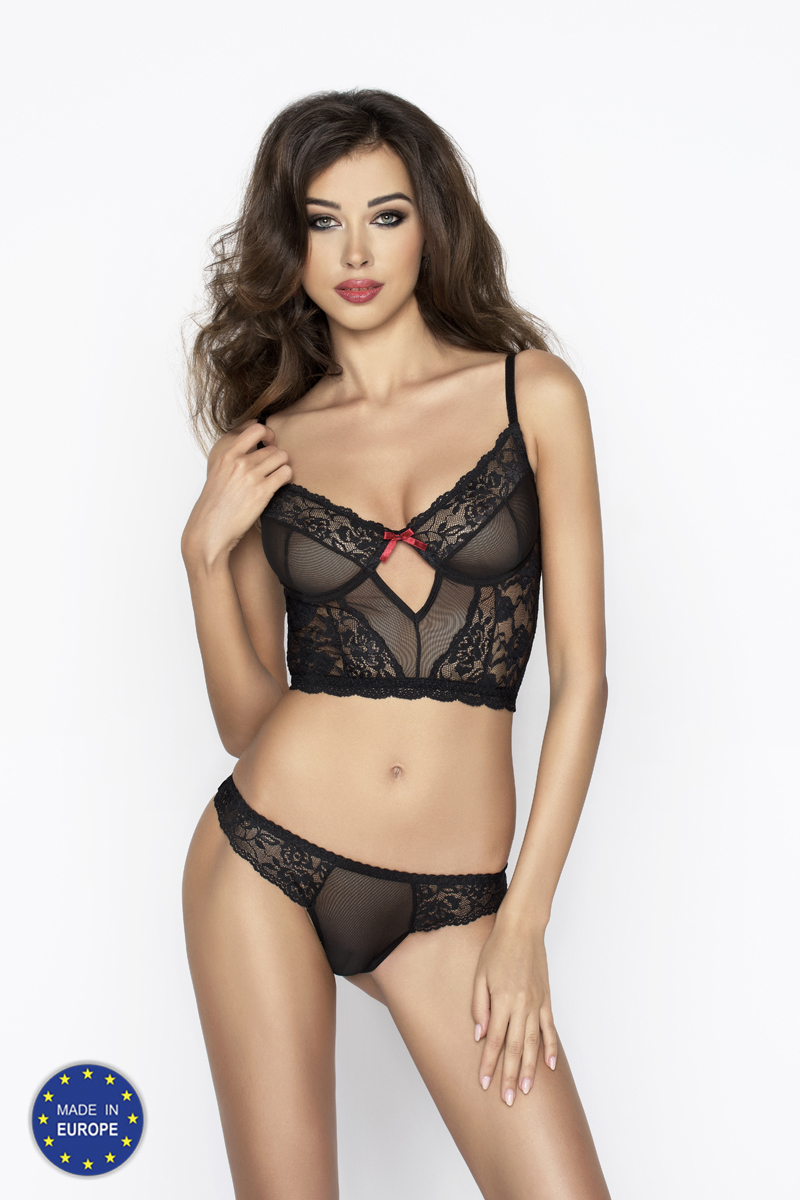 Passion LEXINE SET black S/M