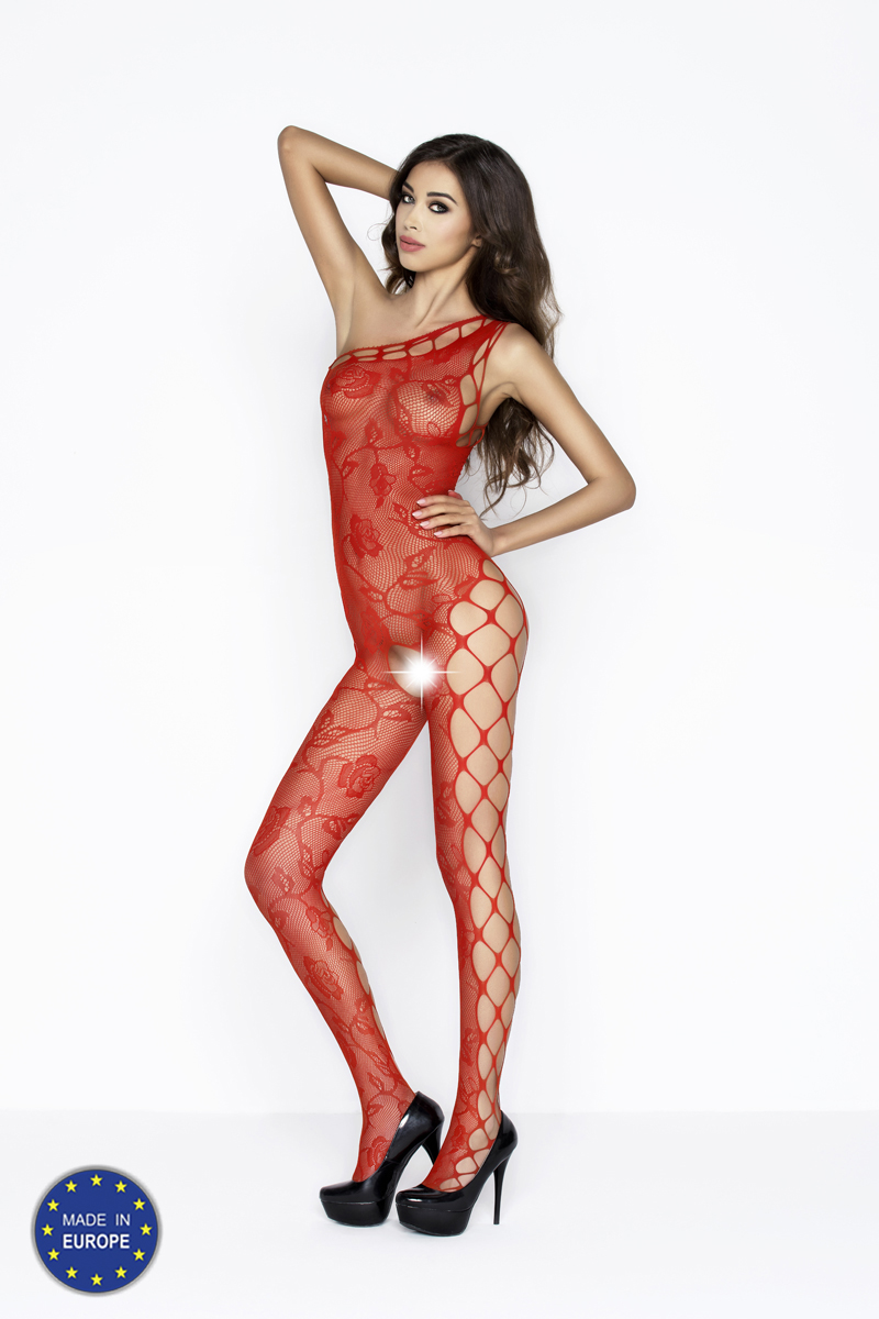Passion Bodystocking BS036 Červená