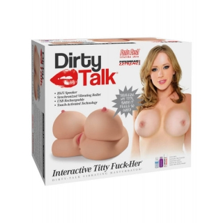 Pipedream Dirty Talk - Interactive Titty Fuck-Her