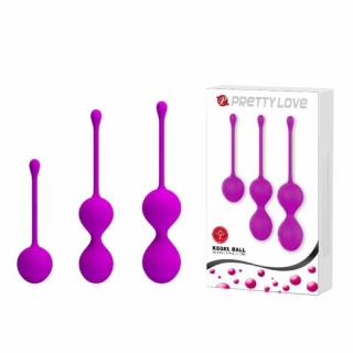Pretty Love Kegel Ball set