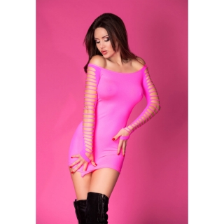 CHILIROSE Seamless Minidress CR 3608 PINK