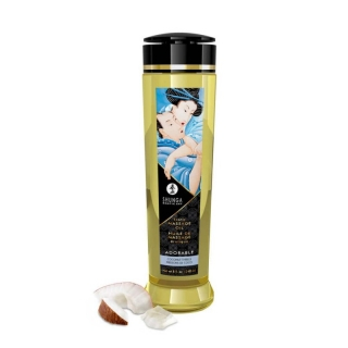 Shunga Erotic Massage Oil Adorable Coconut 240ml
