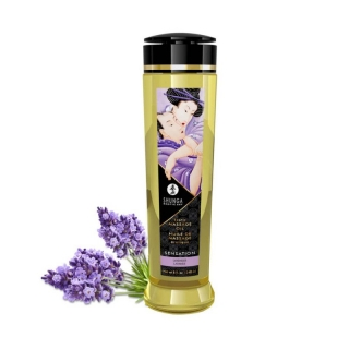 Shunga Erotic Massage Oil Sensation Lavender 240ml