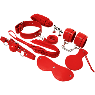 EXPERIENCE BDSM FETISH KIT RED SERIES