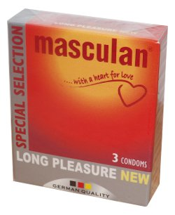Masculan Long pleasure (3 ks)